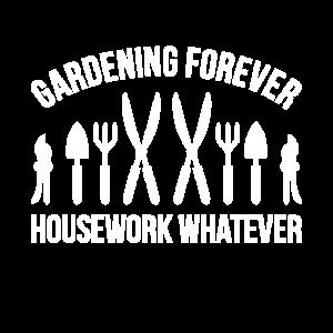 Gartenarbeit für immer Hausarbeit Was auch immer