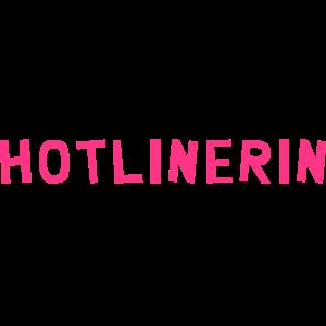 Hotliner Hotlinerin Hotline Telefonist Telefon