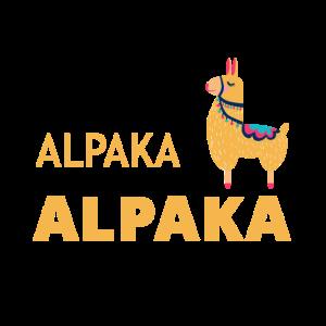 Alpaka Alpakas Spruch Geschenk