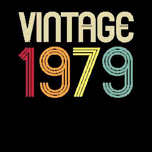 Vintage 1979 Retro 40. Geburtstag Geschenk