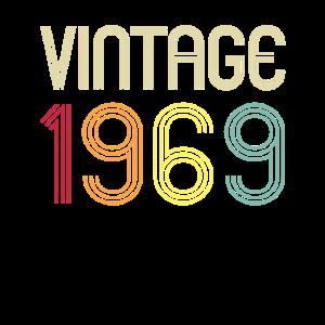 Vintage Retro 1969 50. Geburtstag Geschenk