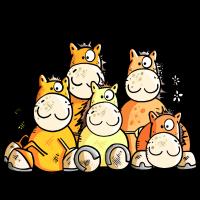 Pferde Freundschaft