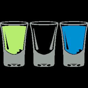 shooter glas alkohol