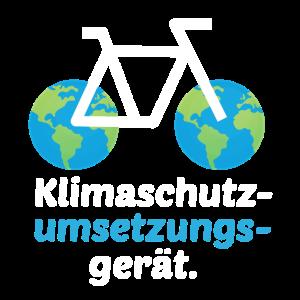 Fahrrad – Shirt Radsport Klimaschutz Geschenk