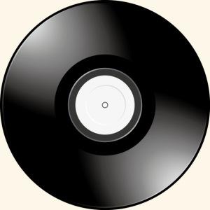 Smiley Vinyl Record