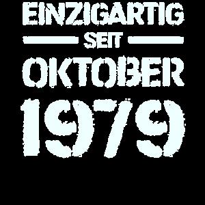 Einzigartig Seit Oktober 1979