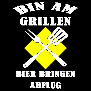 Grillen Grillmeister BBQ Griller Geschenk Idee