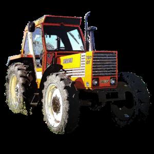 Traktor windeffekt