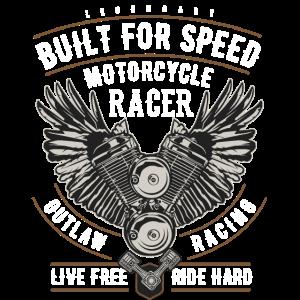 Motorrad Biker Racer Motor