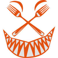 gabel gesicht heftigen zahn kueche