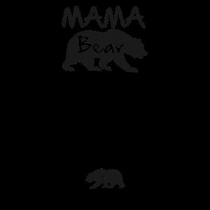 Mama Bär und Jungtier