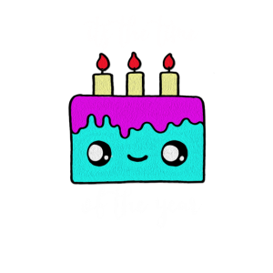 Bäcker Shirt | Stück Torte | Geschenk Kerzen