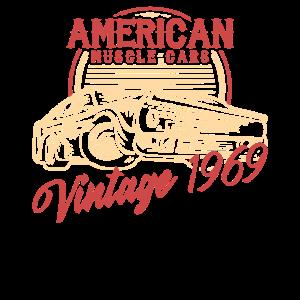 American Muscle Cars  Vintage 1969