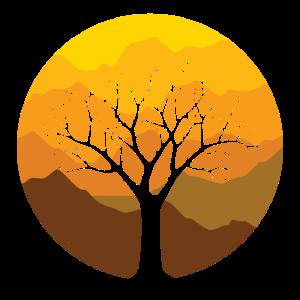 Baum im Herbst - Design