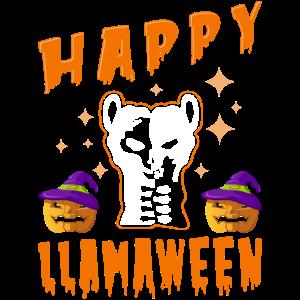 Llama Halloween Kostüm Happy Llamaween