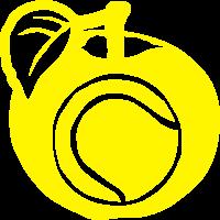 apfel fussabdruck tennis ball