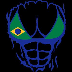 koerper brasilienflagge zerrissen brustm