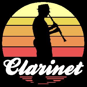 Klarinette Holzbläser Musik Klarinettist Geschenk
