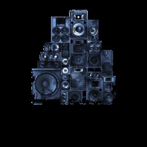 Lautsprecher Turm Rack Subwoofer Musik Anlage Fans