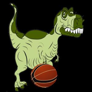 Dinosaurier Basketball
