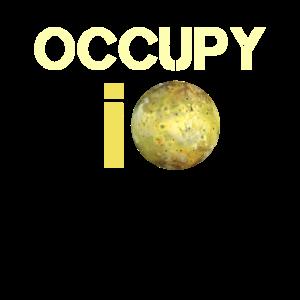 Occupy io Mond Jupiter Planet Sonnensystem