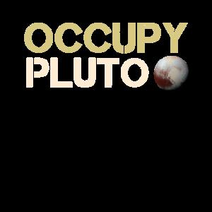 Occupy Pluto Planet Sonnensystem