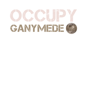 Occupy Ganymede Ganymed Mond Jupiter Planet Sonnen