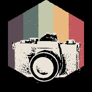 Spaß-Retro Blick-Kamera-Geschenk-Entwurf für