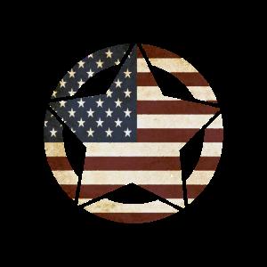 USA, Amerika, Flagge, Stern