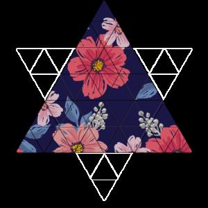 Geometrische Blumen