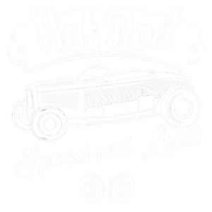 Hot Rod Speed and Loud Classic Garage