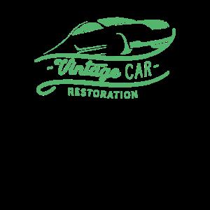 Oldtimer Autos Auto Reperatur Restaurieren