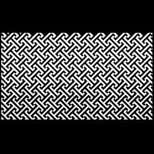 Dekoratives Fliesen Muster