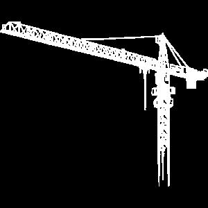 Kran, Turmdrehkran, crane No.: 2 hell (Bitmap)