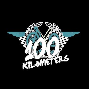 Tretroller 100 km Belohnungsmotiv