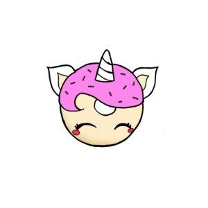 Cupcine Eenhoorn
