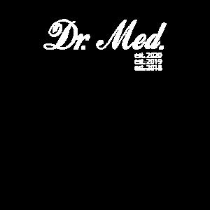 Lustiges Dr. Med. Medizin Bummelstudent Shirt