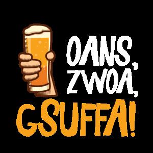 oans zwoa gsuffa | Bayer Österreich Oktoberfest