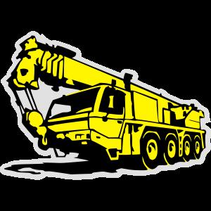 Autokran, crane (3 color)