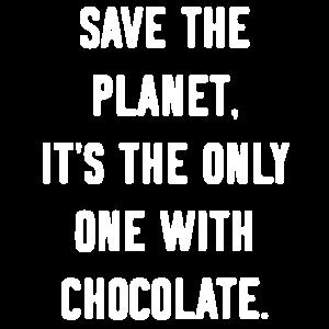 Beutel Tasche Schokolade
