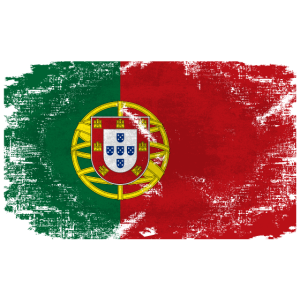 Portugal Flag - Vintage Look