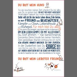 Das Hundemanifest - Jetzt als Poster