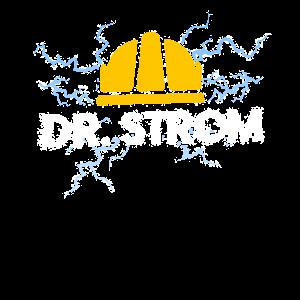 Elektriker Doktor Strom Shirt