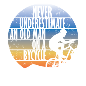 Never underestimate an old man Rennrad