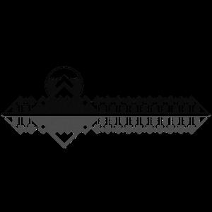 Gebirgszug Blackline