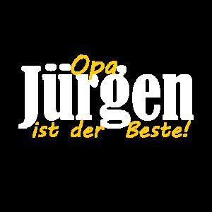 Jürgen Name Opa der Beste Großvater