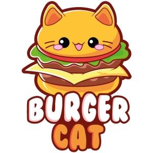 Burger Cat / Burger Katze