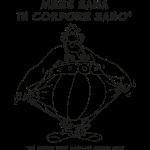 Obelix - Mens Sana in Corpore Sano lineart
