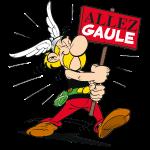 Asterix - Allez Gaule avec panneau