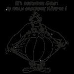 Obelix - Ein gesunder Geist B/W